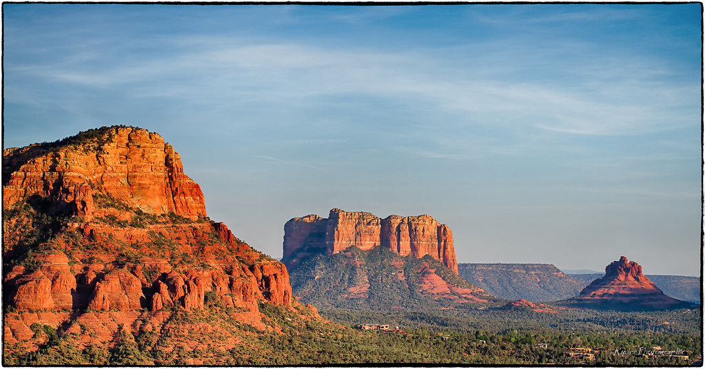 Courthouse Butte and Bell Rock Sedona Arizona  Views