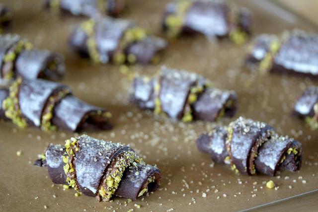 Chocolate Pistachio Rugelach - 21