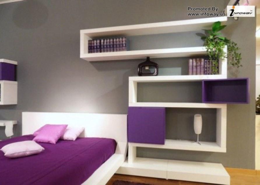 inspirational purple bedroom designs
