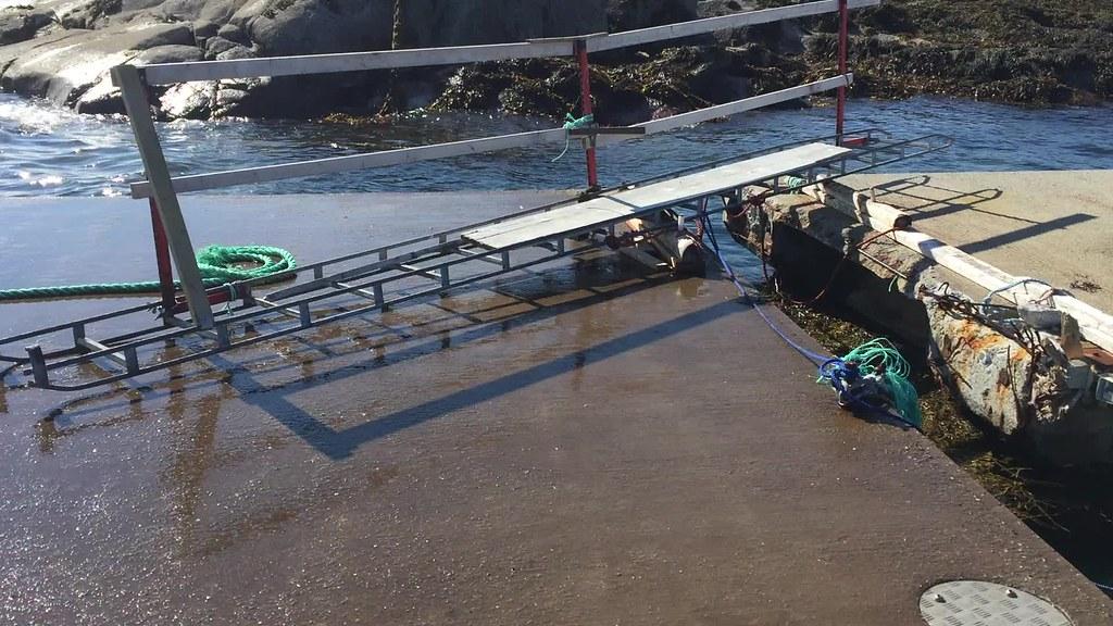Litt vær i Tranøy havn
