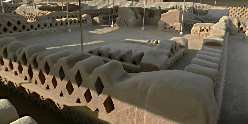 Huaca de Chan Chan en Trujillo Perú Patrimonio de la Humanidad 15