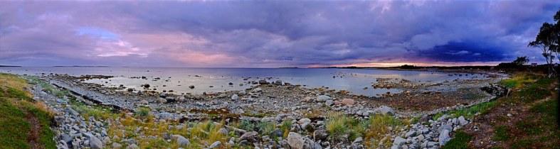 Sunset. Solovetsky Islands. 01