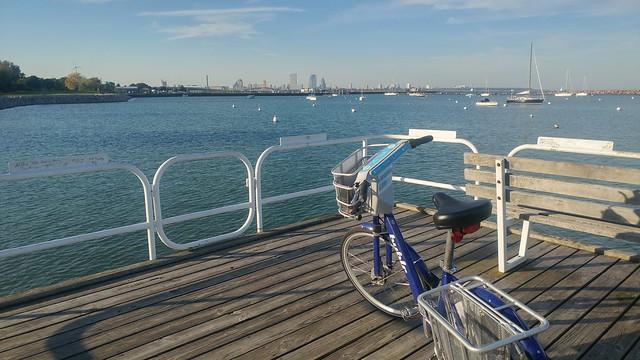 Exploring Milwaukee by Bublr Bike-Share Bike