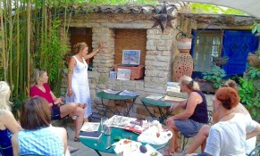 Watercolor Painting Workshop Provence organized by www.frenchescapade.com