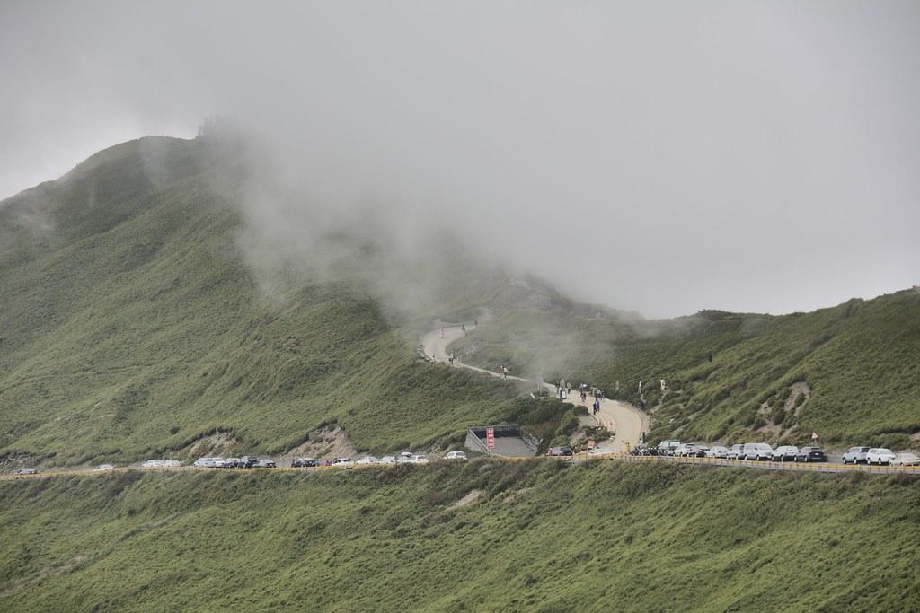 武嶺遠望合歡山主峰登山口 | 澎湖小雲雀 | Flickr