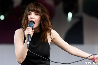 Chvrches @ Pitchfork Music Festival, Chicago IL 2015