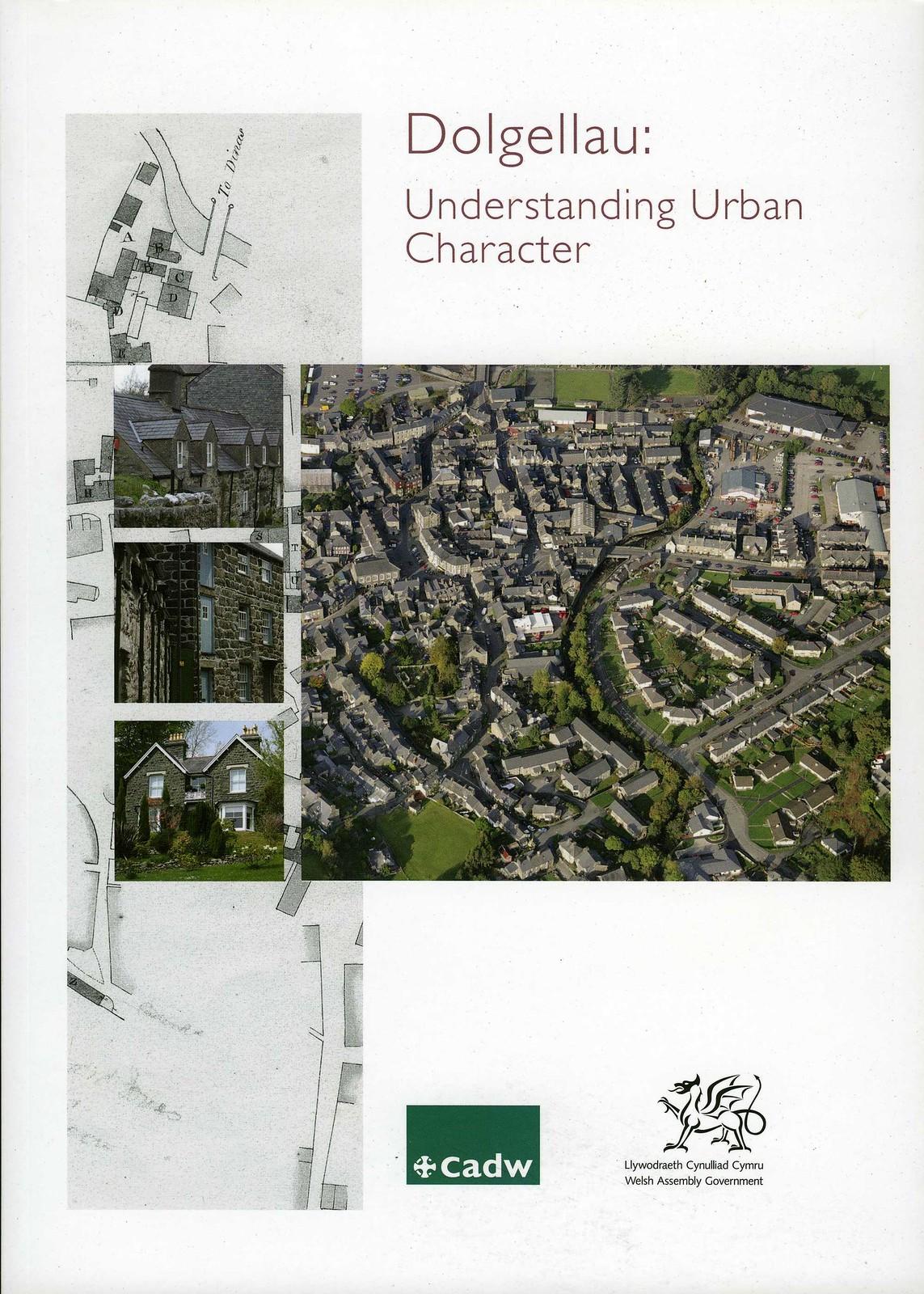Dolgellau: Understanding Urban Character (English Cover Side) 2009