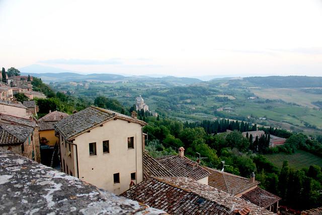 Tuscany Montepulciano View - 1