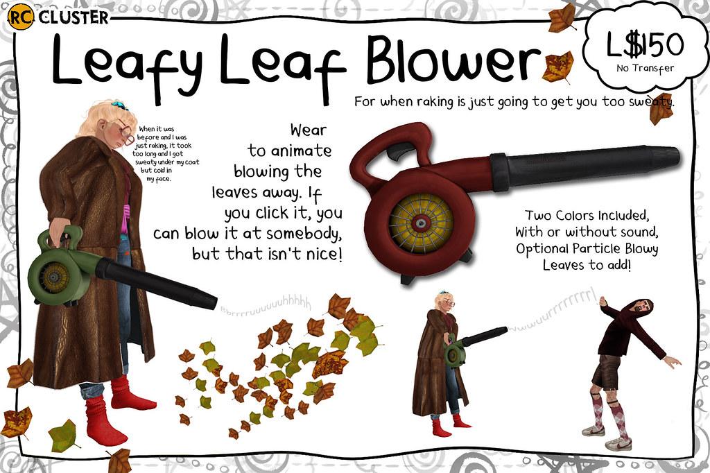 rc leafy leaf blower
