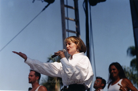 Main Stage at San Diego LGBTQ Pride Festival, 1996