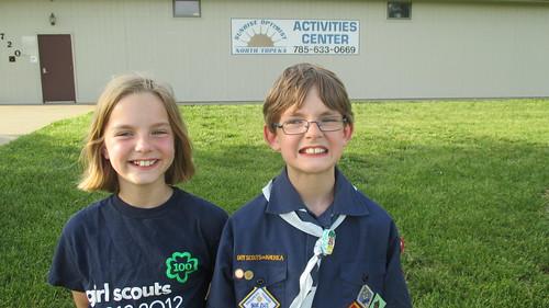 140/365 [2014] - Scouting Siblings