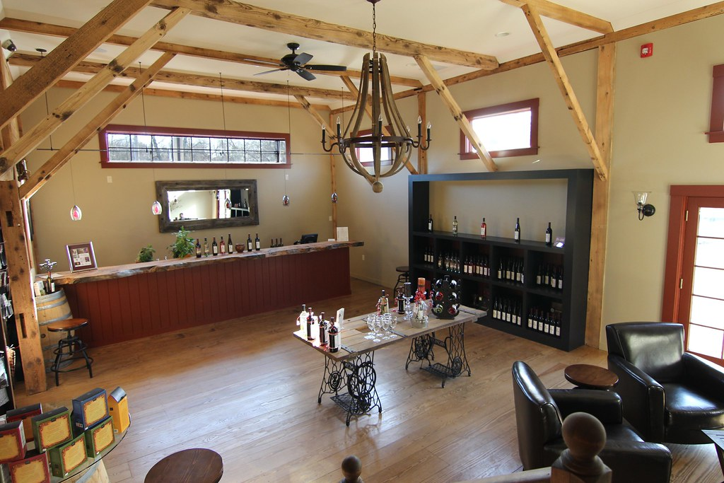 Mill River Winery Tasting Room  Rowley MA Photo Credit