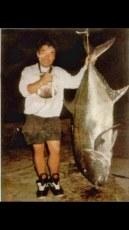 Dean Murat and his huge 116 lb ulua
