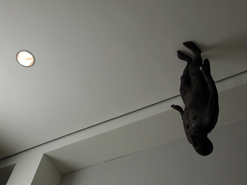 Gormley on the ceiling
