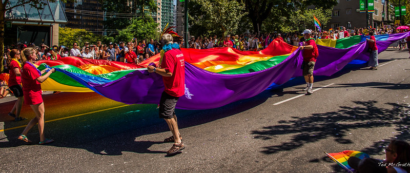 2014 - Vancouver - Pride Parade - Coin Toss Please