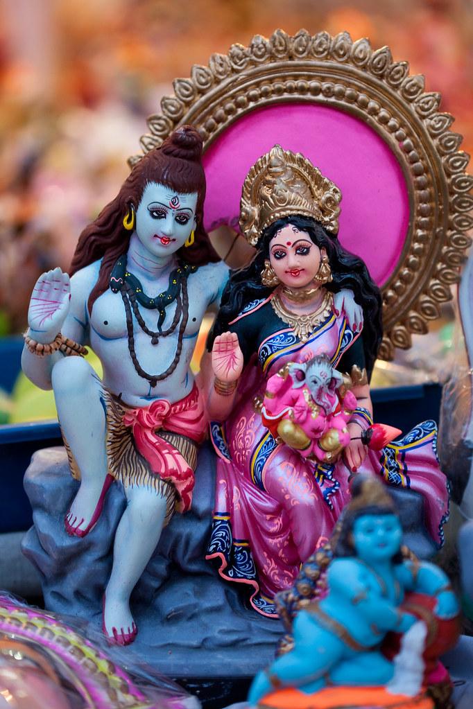 Shiva Parvati Navarathri Golu Dolls Vinoth Chandar