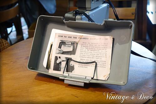 寶麗萊美國古董相機 Polaroid Automatic 320 | 聯絡資訊: site:http://i0.wp.com/vintage… | Flickr