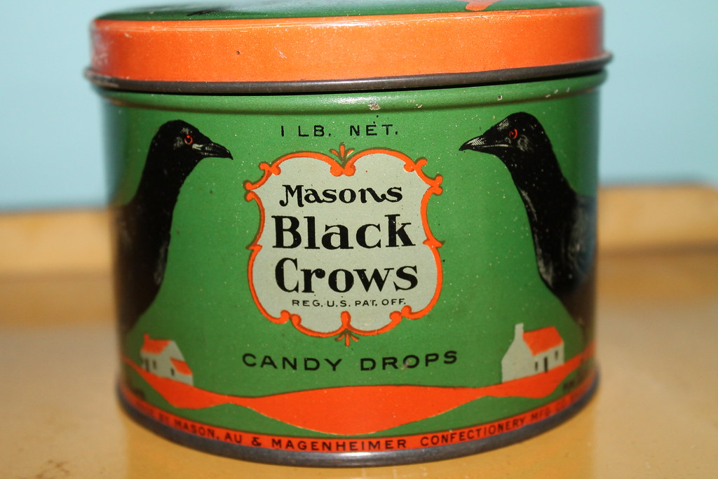 vintage black crows candy