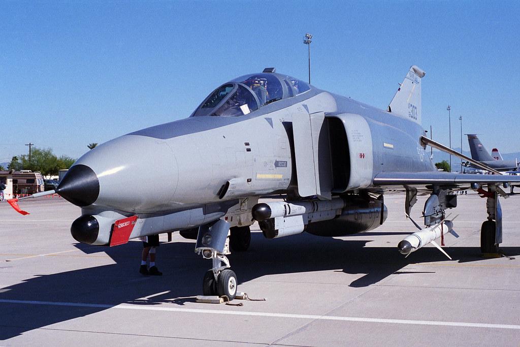USAF F4G Wild Weasel 690303  Phoenix 500 Air Races
