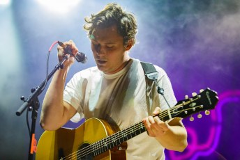 The Front Bottoms at EagleBank Arena in Fairfax, VA on November 10th, 2016