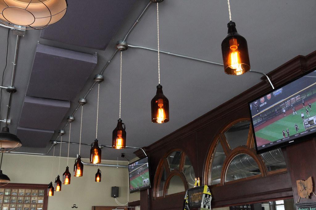 lighting above bar lighting above the bar at north high br flickr