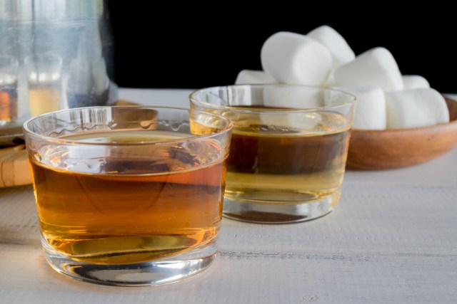 frangelico or bourbon, your choice