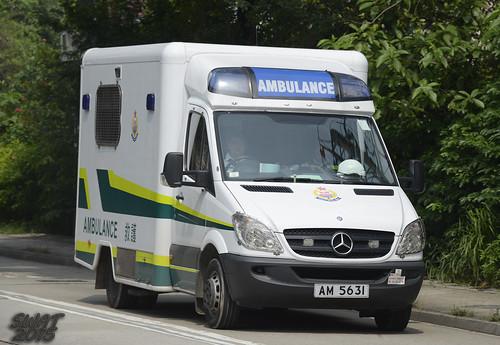 香港醫療輔助隊 AM 5631 救護車 前香港消防處救護車 | Hong Kong Auxiliary Medical … | Flickr