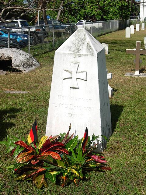 The SMS Cormoran Monument, 2007