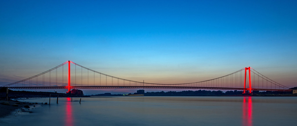 Rheinbrücke Emmerich Sept. 15   um 50. Geburtstag hat die Br…   Flickr
