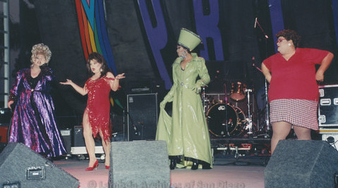 Main Stage at San Diego LGBTQ Pride Festival, 1999