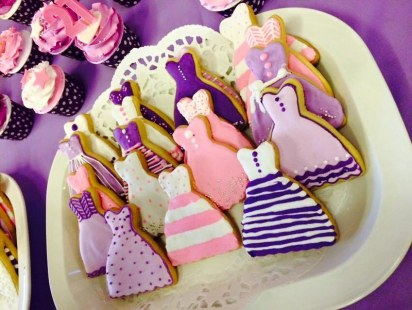 yvaine's 21st birthday cookies