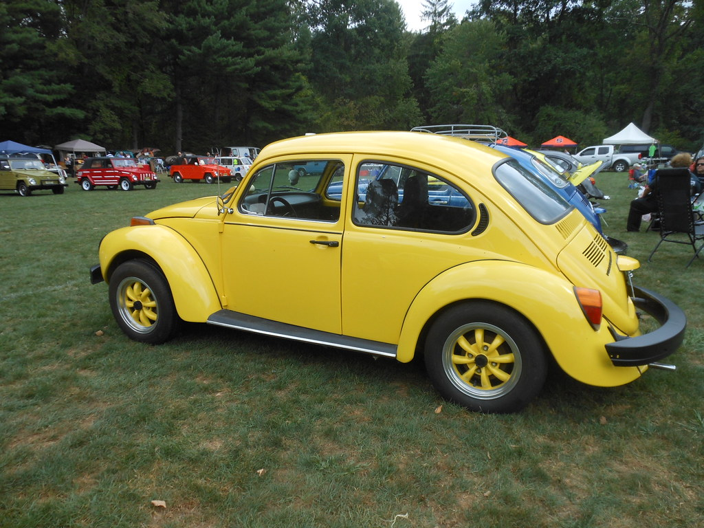hight resolution of  hot yellow 74 super beetle by smaginnis11565