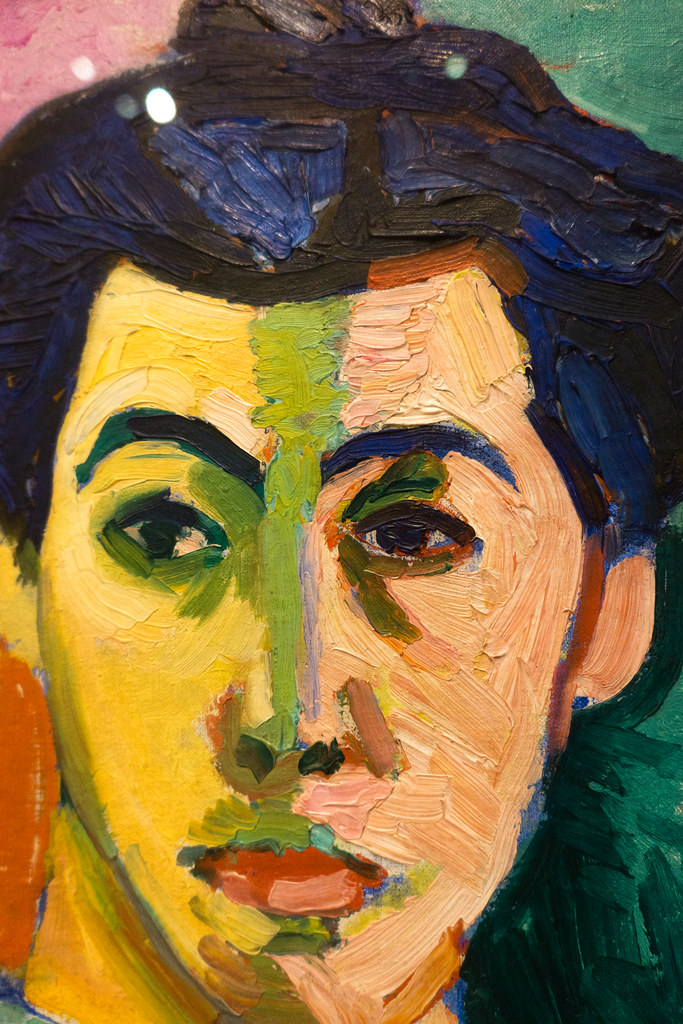 Henri Matisse The Green Stripe Portrait Of Mme Matisse