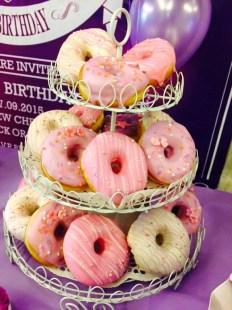 yvaine's 21st birthday donuts
