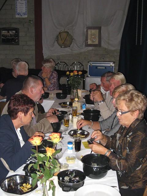 Mosselavond eten