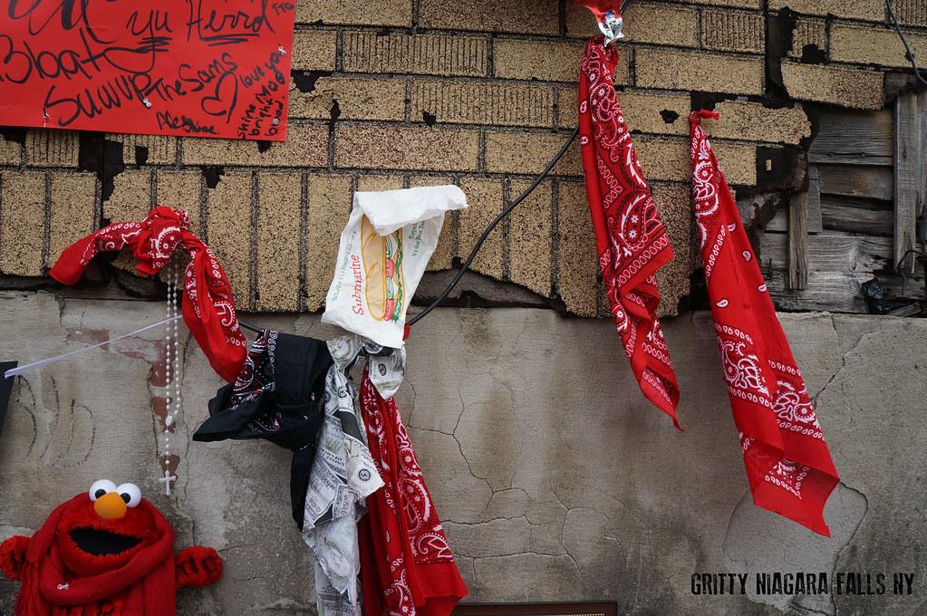 Live Niagara Falls Wallpaper Blood Gang Memorial In Niagara Falls New York Homicide