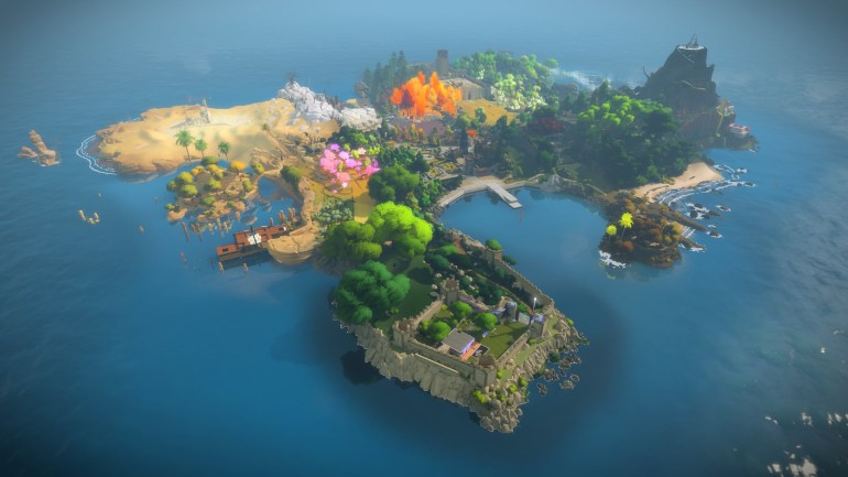 The Witness play at home
