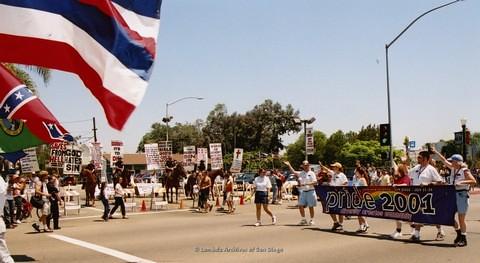 San Diego LGBTQ Pride Parade, 2001