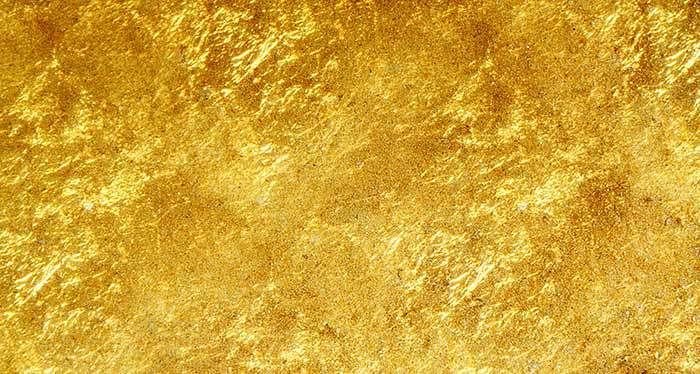 some gold foil texture
