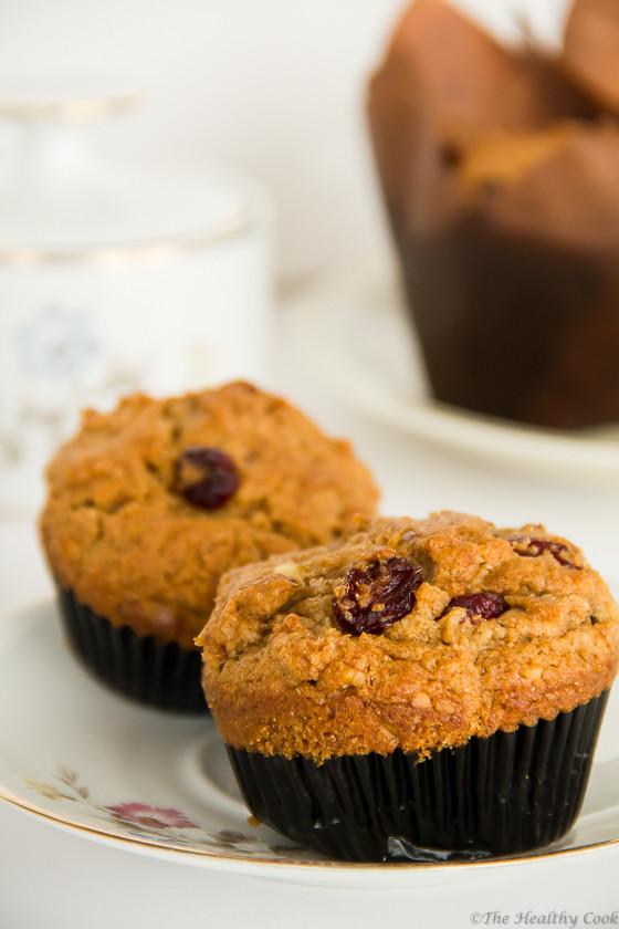 Dried Fruit Muffins (St. Fanourios Cake)  –  Φανουρόπιτα /κια