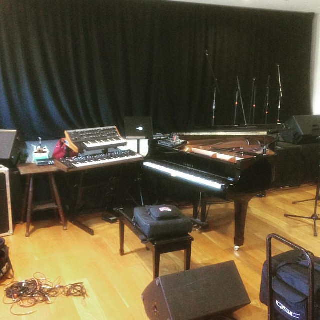 Deep into setup phase at the Ritz
