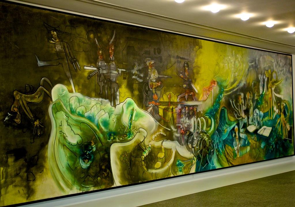 Watchman What Of The Night 1968 Roberto Matta 1911