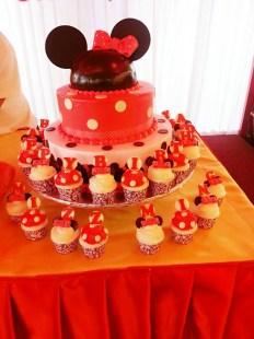 mickey theme cupcake
