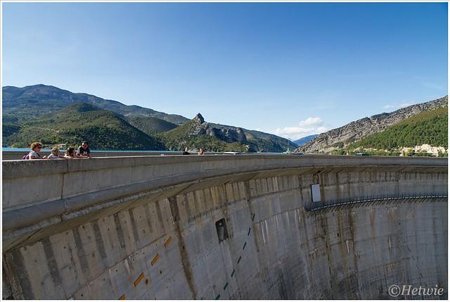 stuwdam Lac du Castillon (7D030603)
