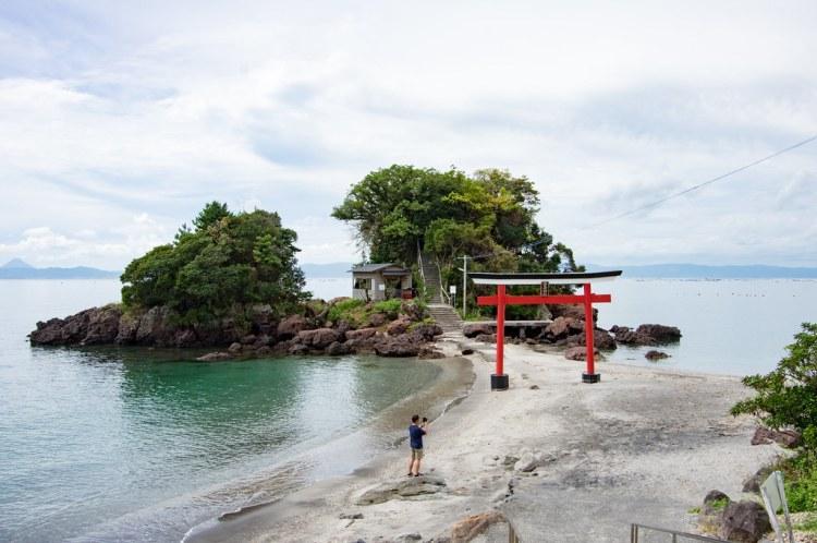 Arahira Tenjin in Kagoshima
