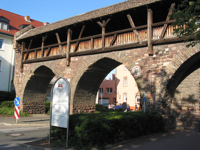 Gate at Worms City Wall