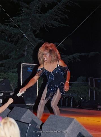 Main Stage at San Diego LGBTQ Pride Festival, 2001