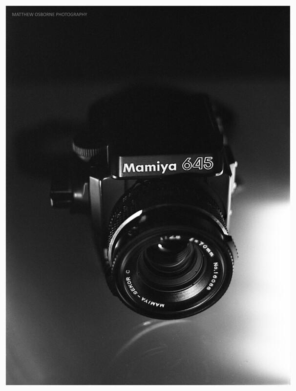 Mamiya 645 Super + 70mm Leaf Shutter Lens