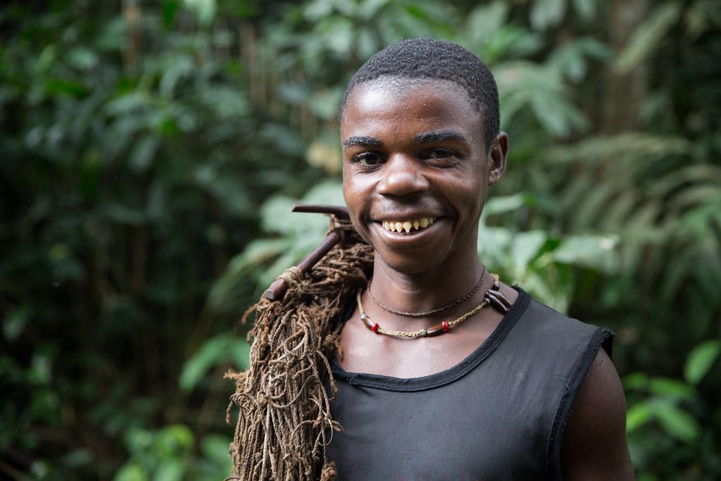 bayaka pygmies sharpened teeth
