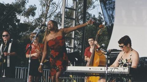 Main Stage at San Diego LGBTQ Pride Festival, 2003